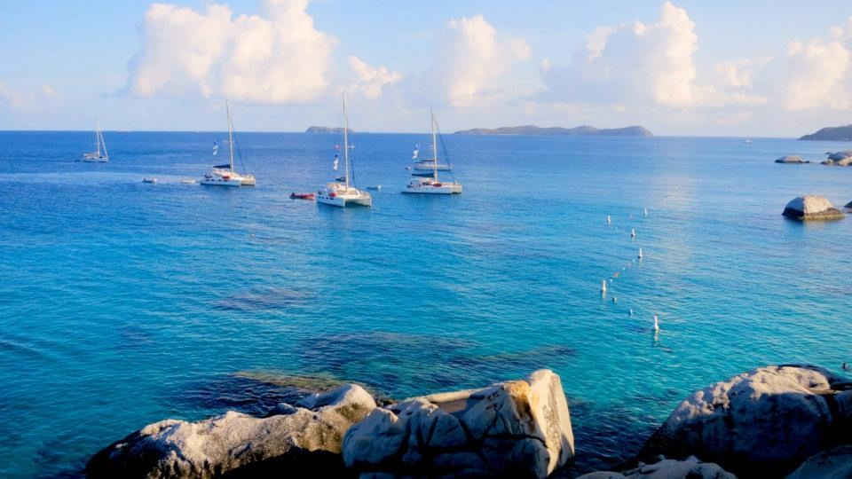 Clipperton's fleet of ships sailed around the British Virgin Islands for seven and a half weeks.
