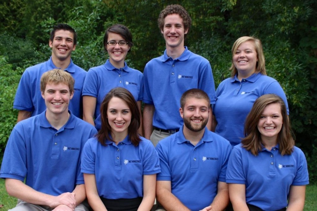The NET team will arrive at PA on the week of September 16th. They are: Back row: Josh Hollcraft, Anna Roa, Luke Berke, Sarah Marie Pedersen Front row: Mark Schumacher, Grace Rogers, Andrew Larochelle, Jacque Szczepanski