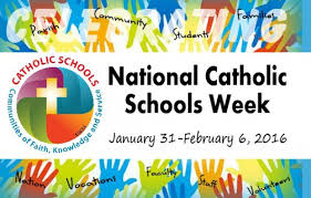 National Catholic Schools Week begins next week.  (Photo from archusa.org)
