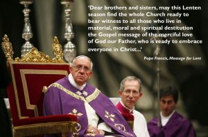 Pope Francis' Lenten message